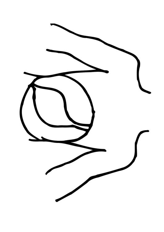 Coloring page stomach - img 11851.