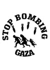 Coloring pages stop bombing Gaza