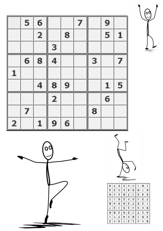 Coloring page sudoku - to move