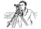 Coloring pages surveyor