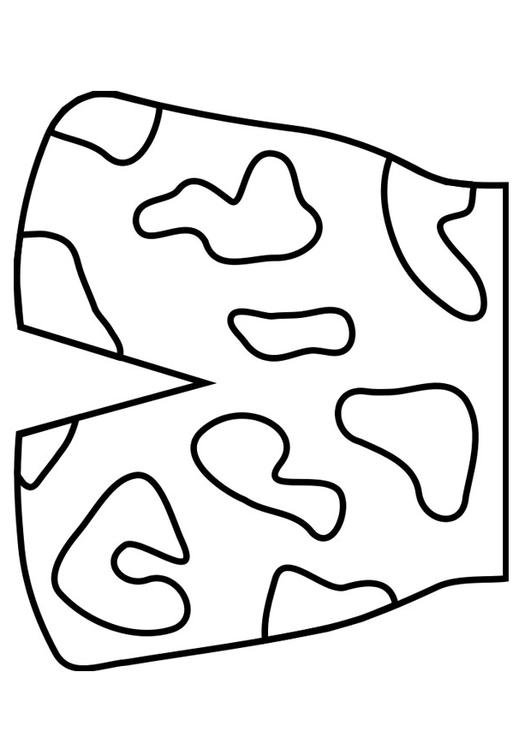 coloring page swim trunks