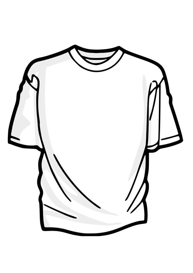 Coloring page t shirt img 27879 for Tshirt coloring page