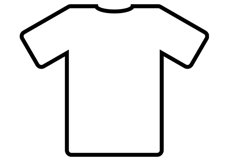 Coloring page t-shirt