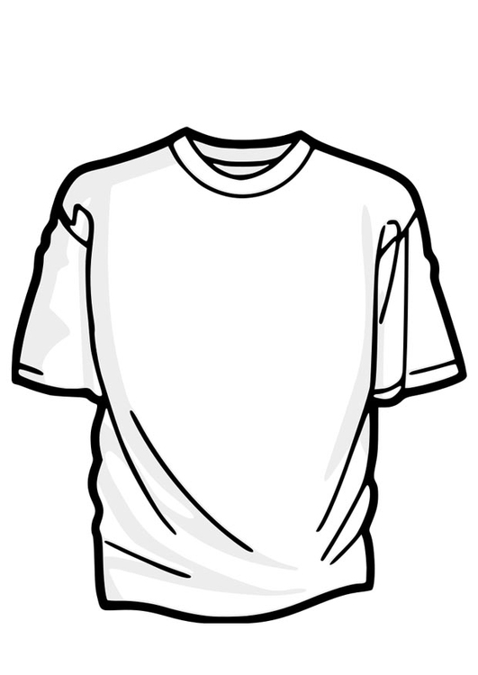 Coloring page t-shirt - img 22913.