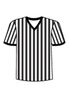 Coloring pages t-shirt referee
