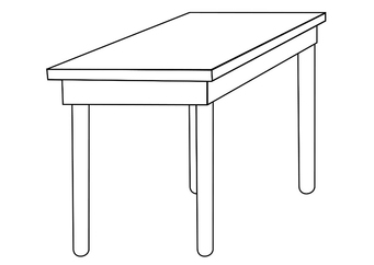 Coloring page table