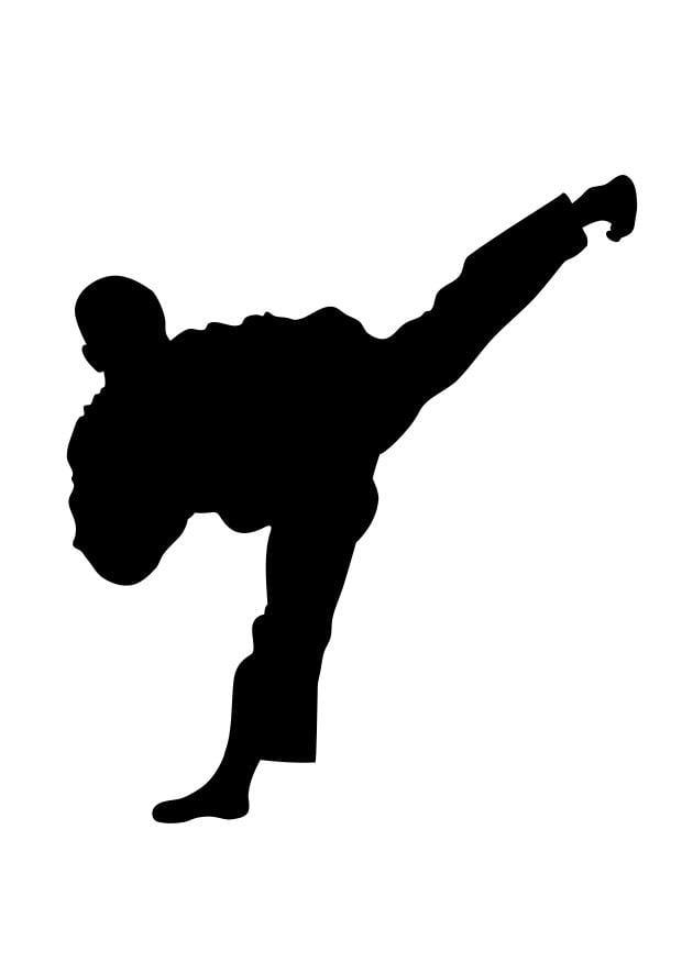 Coloring Page Taekwondo Free Printable Coloring Pages