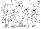 Coloring page tall