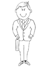 Coloring pages teacher