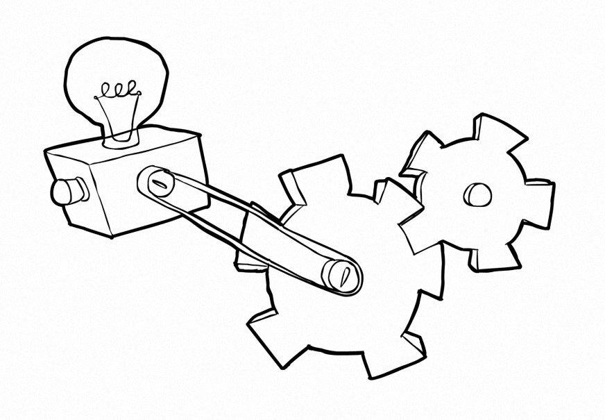 technology coloring pages - photo#22