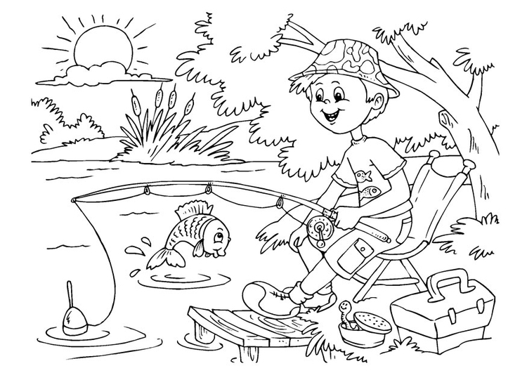 Coloring page to angle