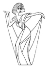 Coloring pages to dance