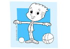 Coloring pages to do sports