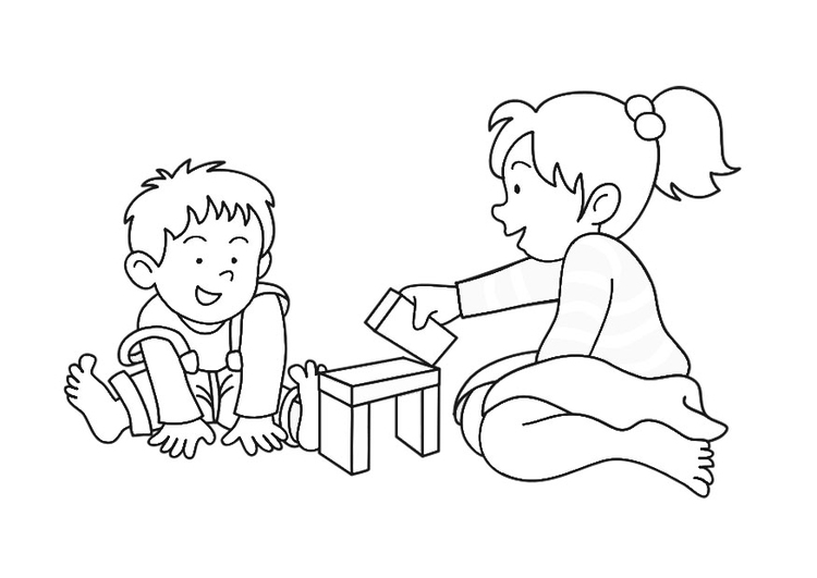 Coloring page to play
