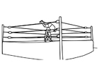 Coloring pages to wrestle