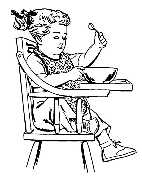 Coloring page toddler