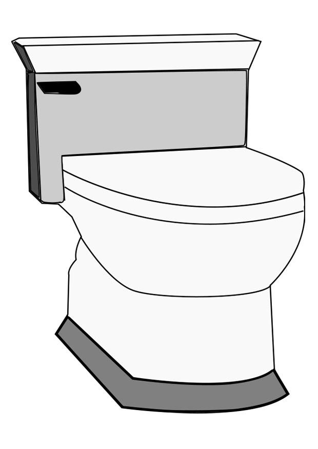 Coloring Page Toilet Img 22811 Images
