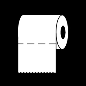 Coloring page toilet roll