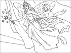Coloring pages tooth fairy