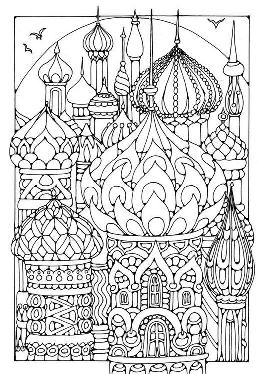 Coloring Page Towers Free Printable Coloring Pages Img 19571