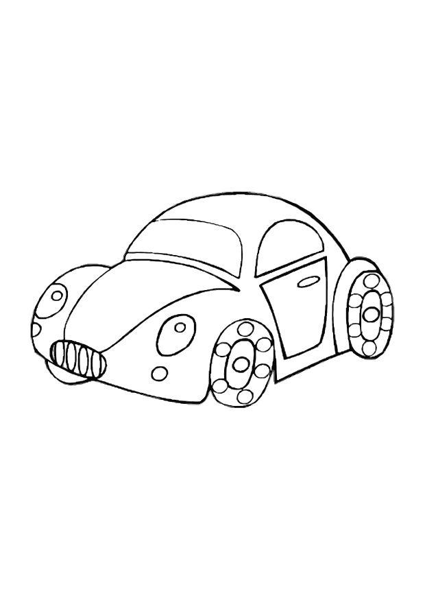 Coloring page toy car - img 10588.