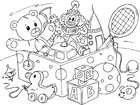 Coloring pages toy