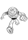 Coloring pages Toy Story - Buzz Lightyear