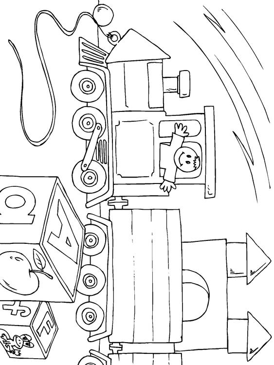 Coloring page toy train img 22824 for Toy train coloring pages