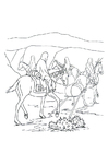 Coloring page travel