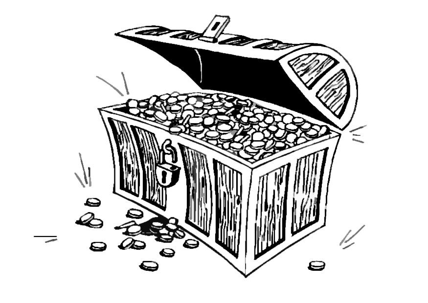 Empty Treasure Chest Coloring Page http://joopschepers.nl/sk-treasure-chest-coloring-page.php