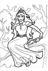 Coloring pages tree queen Gellie