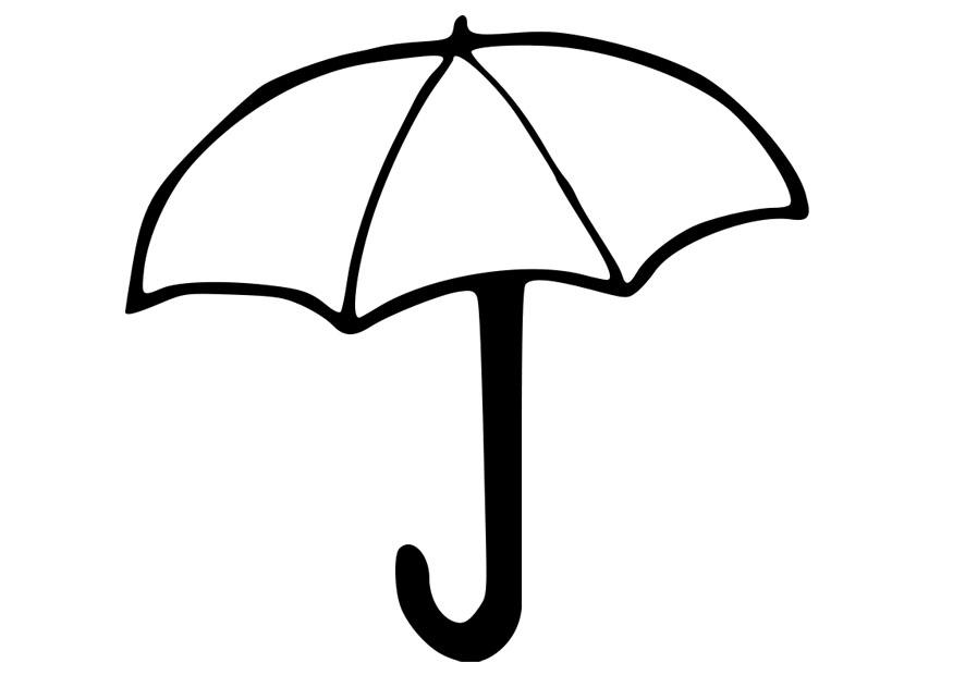 umbrella in the summer coloring pages - Coloring Pages