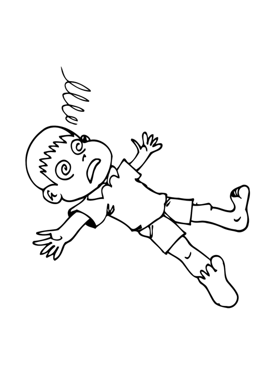 Coloring page unconscious