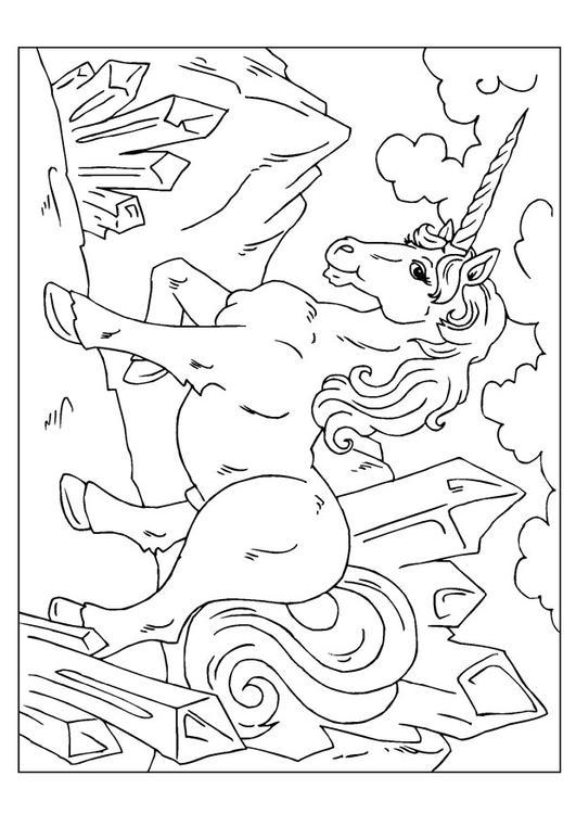 Unicorn Kleurplaat Volwassenen Coloring Page Unicorn Img 22607