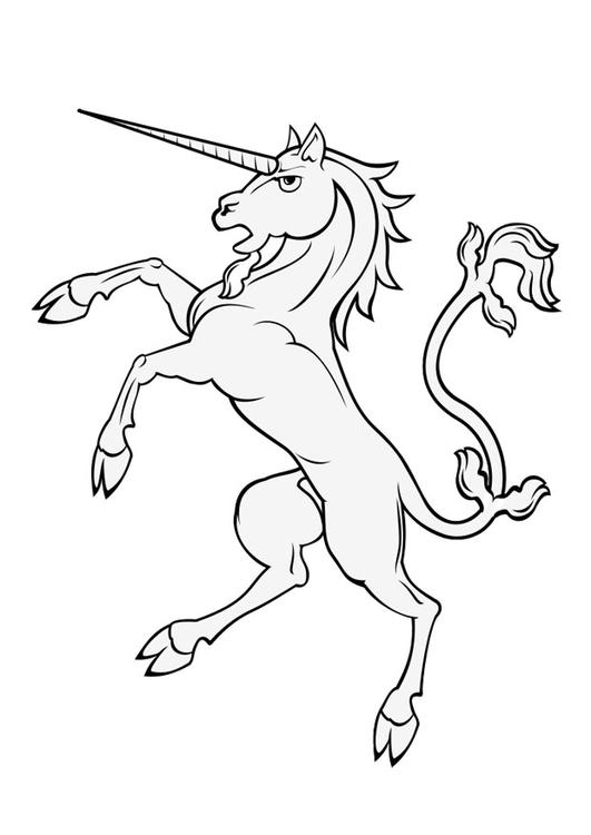 Coloring Page Unicorn Img 28937