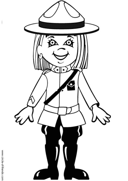 Coloring page Valerie