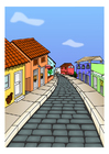 Image village street
