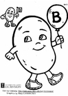 Coloring pages Vitamin B