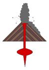 Image volcano eruption