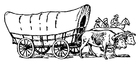 Coloring pages Wagon