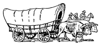 Coloring page Wagon