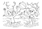 Coloring pages water fun