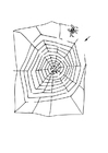 Coloring page web maze