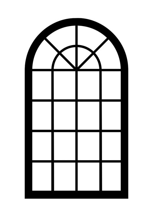 Coloring page window