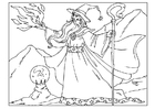 Coloring pages wizard