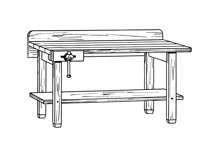 Coloring page workbench