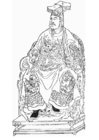 Coloring page Yue Fei