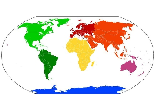 Which continents are joined