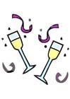 Image champagne glasses