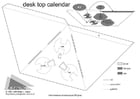 Craft desk top calender part 1